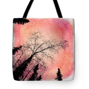 Tree Silhouettes I Tote Bag