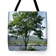 Tree Standing Tall Tote Bag
