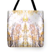 Tree Temple Tote Bag