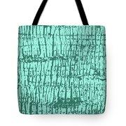 Tree Texture Turquoise Tote Bag