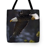 Tree Top Flight-signed Tote Bag