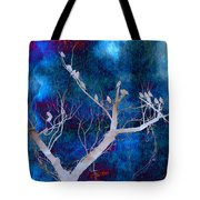 Tree Top Flock Tote Bag