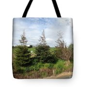 Perfectly Placed Trees Tote Bag