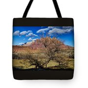 Tree With A View Tote Bag