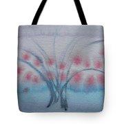 Tree With Balls Three Tote Bag