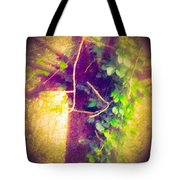 Tree With Vine Tote Bag