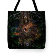Tree Wizard Tote Bag