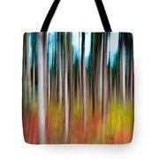 Treecolour Tote Bag