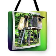Treehouse Fort Tote Bag