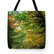 Trees Along The Flumes Trail Tote Bag