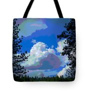 Trees And A Cloud For Crying Out Loud Tote Bag