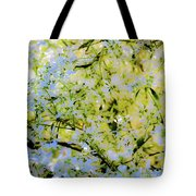 Trees And Leaves Tote Bag