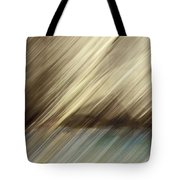 Trees And Pond Tote Bag