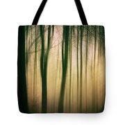 Trees At Dawn Tote Bag