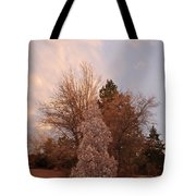 Trees At The State Capital Tote Bag