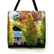 Trees Backlit By The Sun 0576t2 Tote Bag