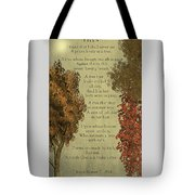 Trees Tote Bag