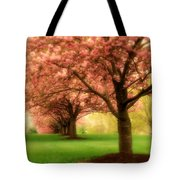 Trees In A Row Tote Bag