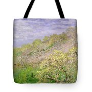 Trees In Blossom Tote Bag