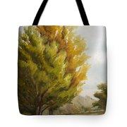 Trees In Boulder Tote Bag