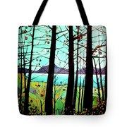 Trees In Fall Tote Bag