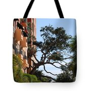 Trees In Space Tote Bag