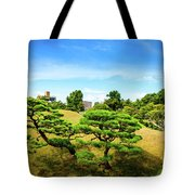 Trees In The City Tote Bag