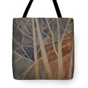 Trees In The Dead Of Winter Tote Bag