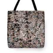 Trees In The Leaves Tote Bag