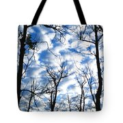Trees In The Sky Tote Bag