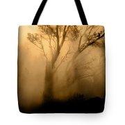 Steaming Trees Tote Bag