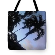 Trees In The Tropics Tote Bag