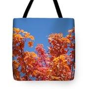 Trees Landscape Art Print Fall Tree Leaves Baslee Troutman Tote Bag