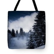 Trees Mountains And More Trees Tote Bag