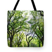 Trees Of Central Park, Nyc Tote Bag