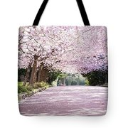 Trees Of Pink Tote Bag