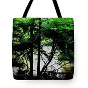 Trees Of Spring Tote Bag