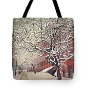Trees On Franklin Tote Bag