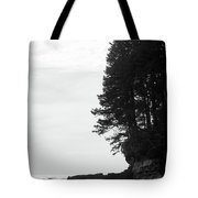 Trees Over The Ocean Tote Bag