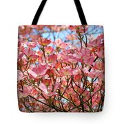 Trees Pink Spring Dogwood Flowers Baslee Troutman Tote Bag