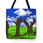 Trees #0078 Tote Bag