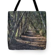 Trees Under Cover 3 Tote Bag