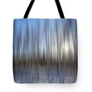 trees Alaska blue abstract Tote Bag