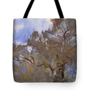 Treetops Against Sky Tote Bag