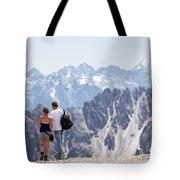 Trekking Together Tote Bag