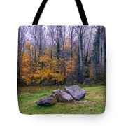 Trench Rocks Tote Bag