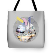 Trendy Design New York City Geometric Mix No 1 Tote Bag