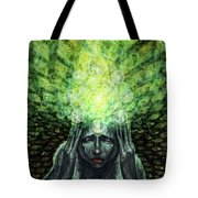 Trepidation Of Existence Tote Bag
