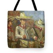 Tres Tambores Tote Bag