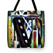 Trestle Detail Bright Tote Bag